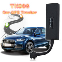 TK806 Mini GPS Car Tracker tempo Real Motocicleta GSM GPS Localizador Remoto eliminou o Motor DC10V-80V ACC Alerta Software de Rastreamento Gratuito