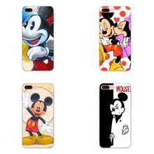 Amantes dos desenhos animados Do Rato Mickey Minnie Para Huawei Honor 4C 5A 5C 5X6 6A 6X7 7A 7C 7X8 8C 8S 9 10 10i 20 20i Lite Pro(China)