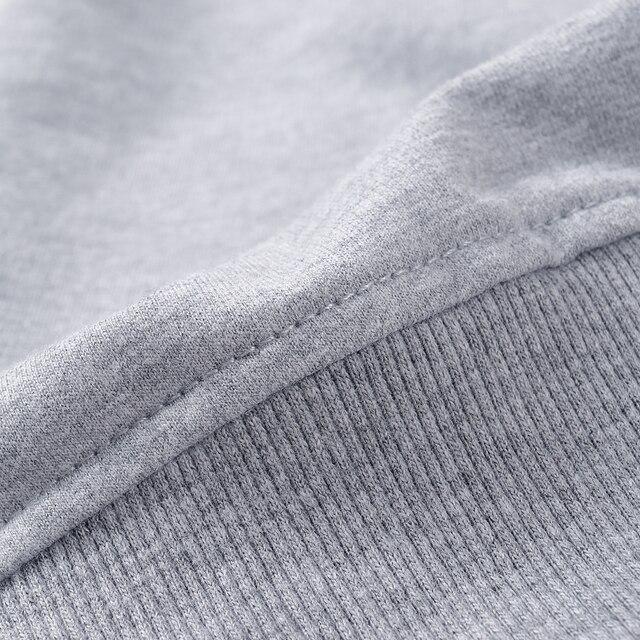 Customized logo Print wholesale Sweatshirts Cotton Hoodies 5