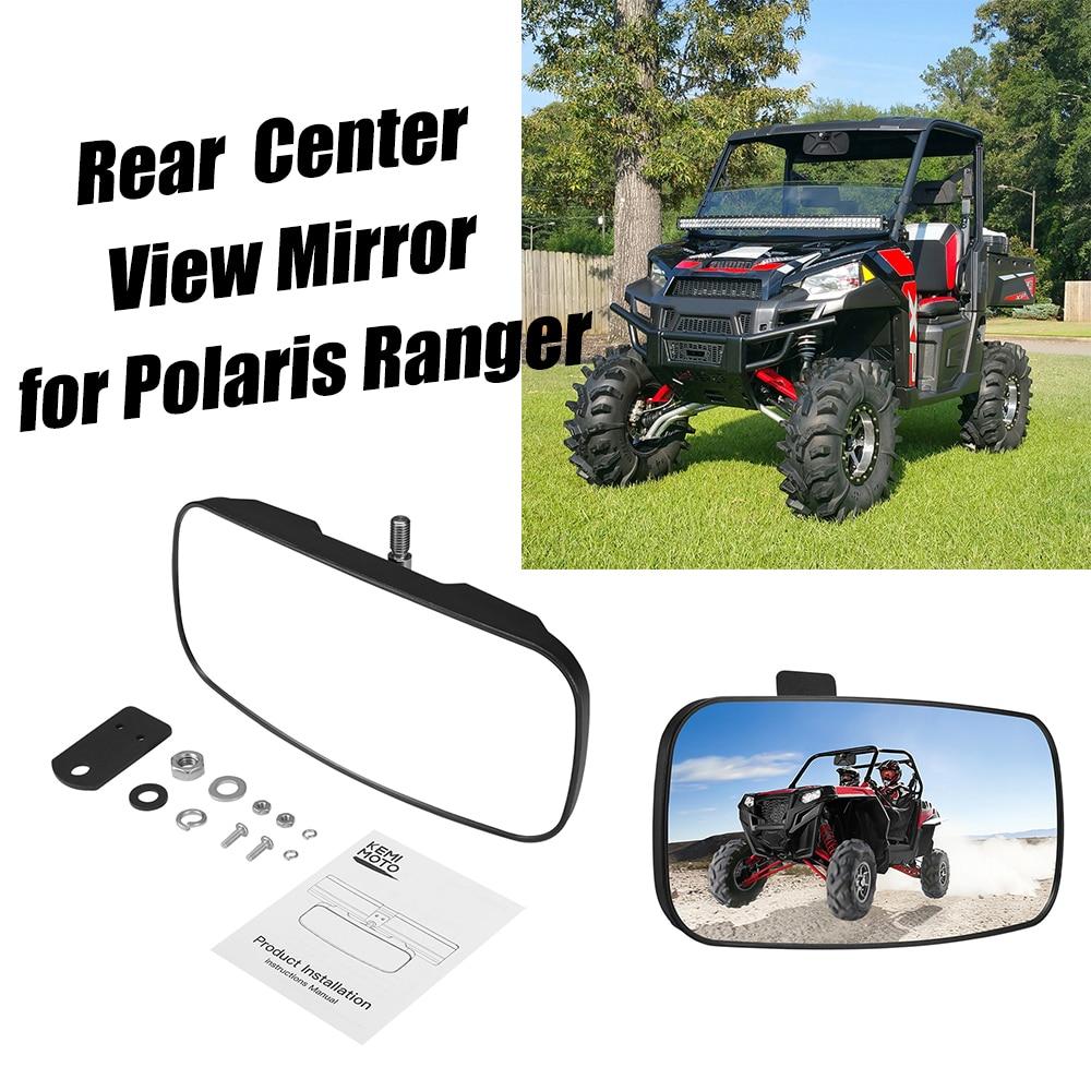 KEMIMOTO UTV Large & Wide Rear Center View Mirror For Polaris Ranger 570 900 XP 2017-2020