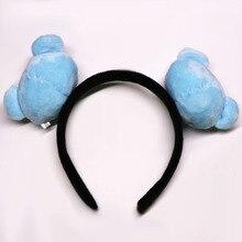 Мода Kpop милый Kawaii группа Kpop Bangtan девушки корейский стиль головная повязка плюшевые обруч для волос аксессуары подарок Kpop повязки на голову