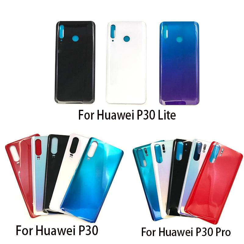 Для Huawei P30 lite Задняя стеклянная крышка P30 батарейный Корпус задняя крышка для Huawei P30 Pro Задняя стеклянная + B7000 клей + инструменты Корпусы и рамки для мобильных телефонов      АлиЭкспресс