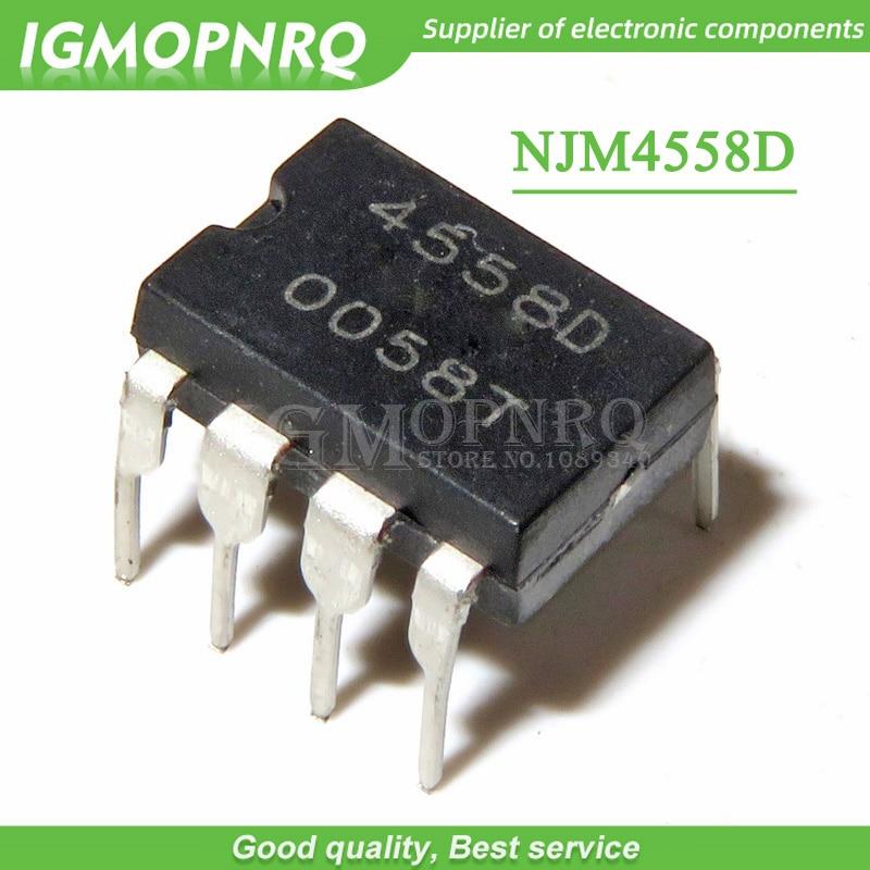 3PCS IC JRC DIP-8 JRC4580D Operational Amplifiers NEW GOOD QUALITY