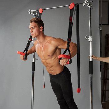 hanging training belt pull rope fitness pull band home strength training fitness equipment