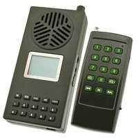Goose Duck Bird Sounds Bird Caller Wild Hunting Decoy 157 Bird Voices Loudspeaker Remote Control Mp3 Player EU Plug