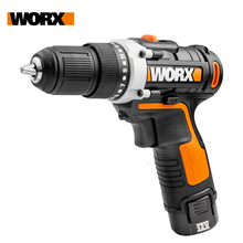Worx 12V Electric Drill Driver WX128.1 Cordless Screwdriver Electric Mini Hand Drill Wireless Household Power Tools Rechargeable