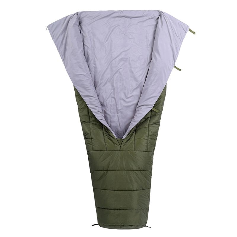 Black Orca 3-Season Ultralight Camping Down Blanket FEATHERLITE UL Top Quilt Mummy Sleeping Bag For Hammock