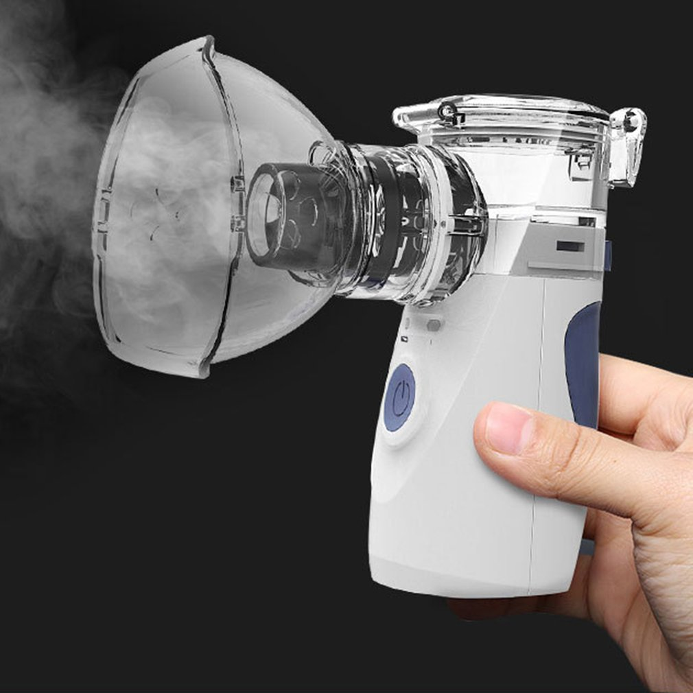 New Health Mini Handheld Portable Inhale Nebulizer Silent Ultrasonic Inalador Nebulizador Children Adult Rechargeable Automizer