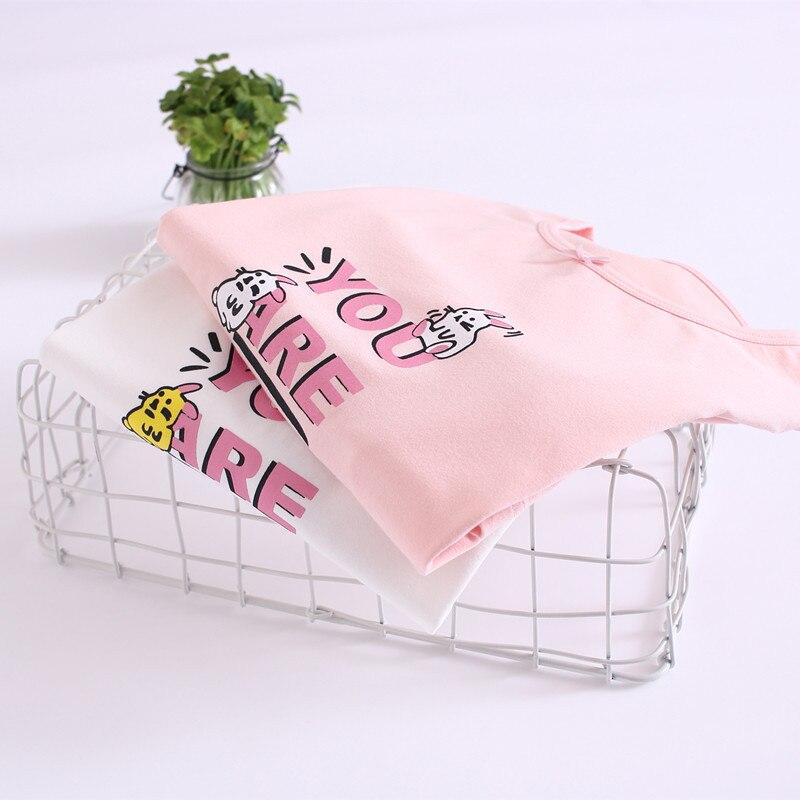 A Class Children Air Conditioner Home Wear Girls Big Boy Princess Short Sleeve Pure Cotton GIRL'S Baby Pajamas