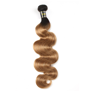 Image 2 - บราซิลผมรวมกลุ่มOmbre Body Wave 100 Human Hair Bundles 8 26นิ้วผมยืดNon Remy IJOY