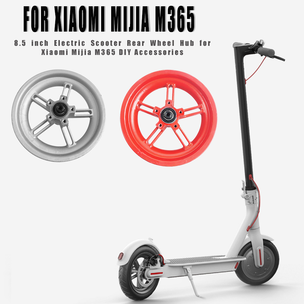 8.5 Inch Electric Scooter Rear Wheel Tire Tyre Hub For Xiaomi Mijia M365 E-bike Scooter DIY Accessories