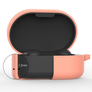Image 5 - Custodia in Silicone Coperchio di Protezione Per Xiaomi Airdots TWS Auricolare Bluetooth Versione Giovanile Auricolare In Silicone Protettiva Caso Della Copertura