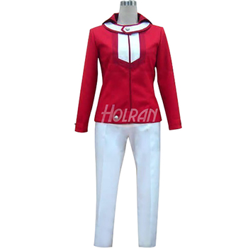 Blood anime Anime Yu-Gi-Oh! GX cosplay costume Yuki Judai role Jaden Yuki coat pants suit Halloween carnival party фото