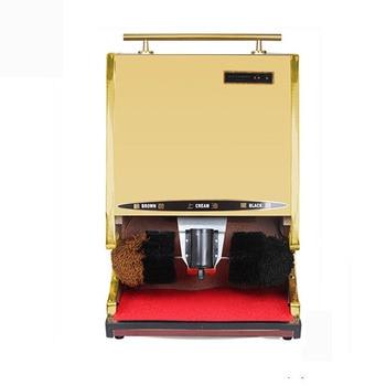 145W Automatic Induction Shoe Polisher Multi-function Stainless Steel Electric Shoe Polisher Brush Shoe Machine Shoe Polisher
