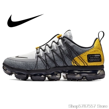 Nike AIR VAPORMAX Men Running Shoes Sneakers Jogging Walking Outdoor Sports Designer New Arrival Pattern Brand AQ8810-010 nike vapormax men running shoes new arrival full palm air cushion comfortable ventilation bradyseism sneakers aq8810 001