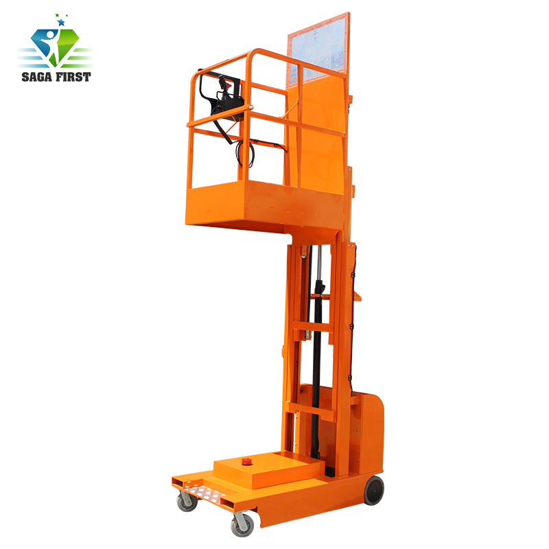 Full Electric Aerial Order Picker From China