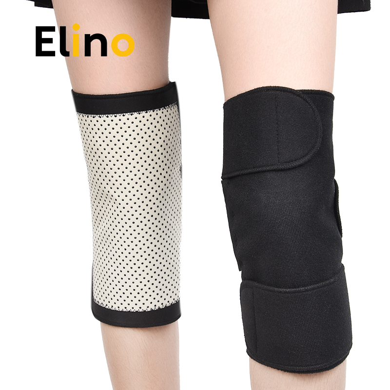 Elino Warm Heating Knee Pads Magnet Magnetic Therapy Knee Protector Arthritis Support Tourmaline Kneepads For Sporting