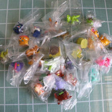50PCS/lot Little Cartoon Trash Animal 3-4cm Dog Chicken etc Action Figure Capsule Toy Kids Education Toys(China)