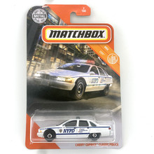 CHEVY CAPRICE CLASSIC POLICE Matchbox Cars 1:64 Car Metal Diecast Alloy Model Car Toy Vehicles