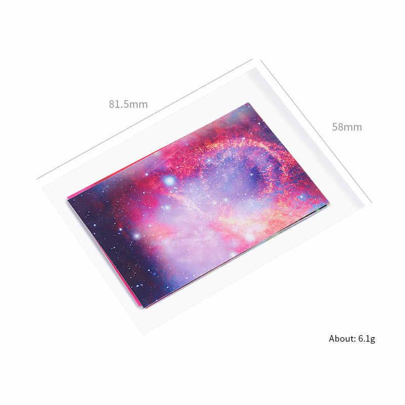 Fire เล็บ Holographic เทปเล็บ Starry Sky สติ๊กเกอร์บางเลเซอร์เงินสติกเกอร์ DIY ฟอยล์สติกเกอร์