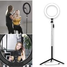 Диммируемый фото Sudio видео светильник светодиодный светильник кольцо красота портативная стойка для селфи макияж Универсальный 20 см W/штатив Bluetooth