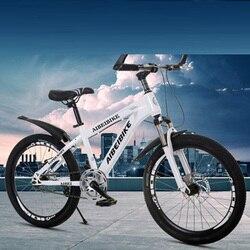 Dorosły rower górski jednobiegowy podwójny hamulec tarczowy amortyzator studencki rower górski 26 cali