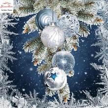 Natal mosai veados neve inverno cheio diamante bordado pintura diamante diy ponto cruz decorao casa parágrafo presente de natal