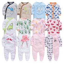 Baby Meisje Romper Pasgeboren Hansop Cartoon Baby Rompertjes 2019 Baby Baby Kleding Met Lange Mouw Pasgeboren Jumpsuits Baby Boy Pyjama