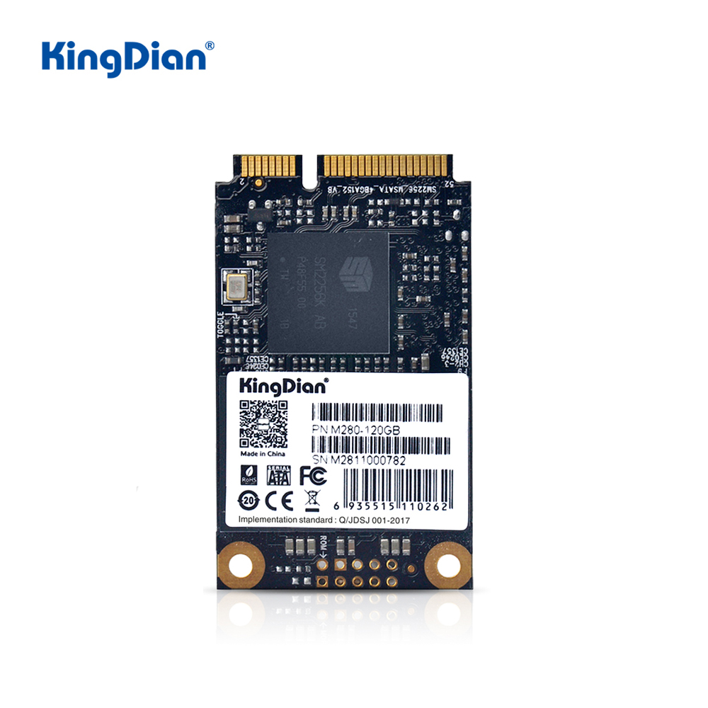 KingDian  MSATA SSD 120GB 240GB 480GB 1TB SATA SSD MSATA Internal Solid State Hard Drive For Computer Desktop Laptop
