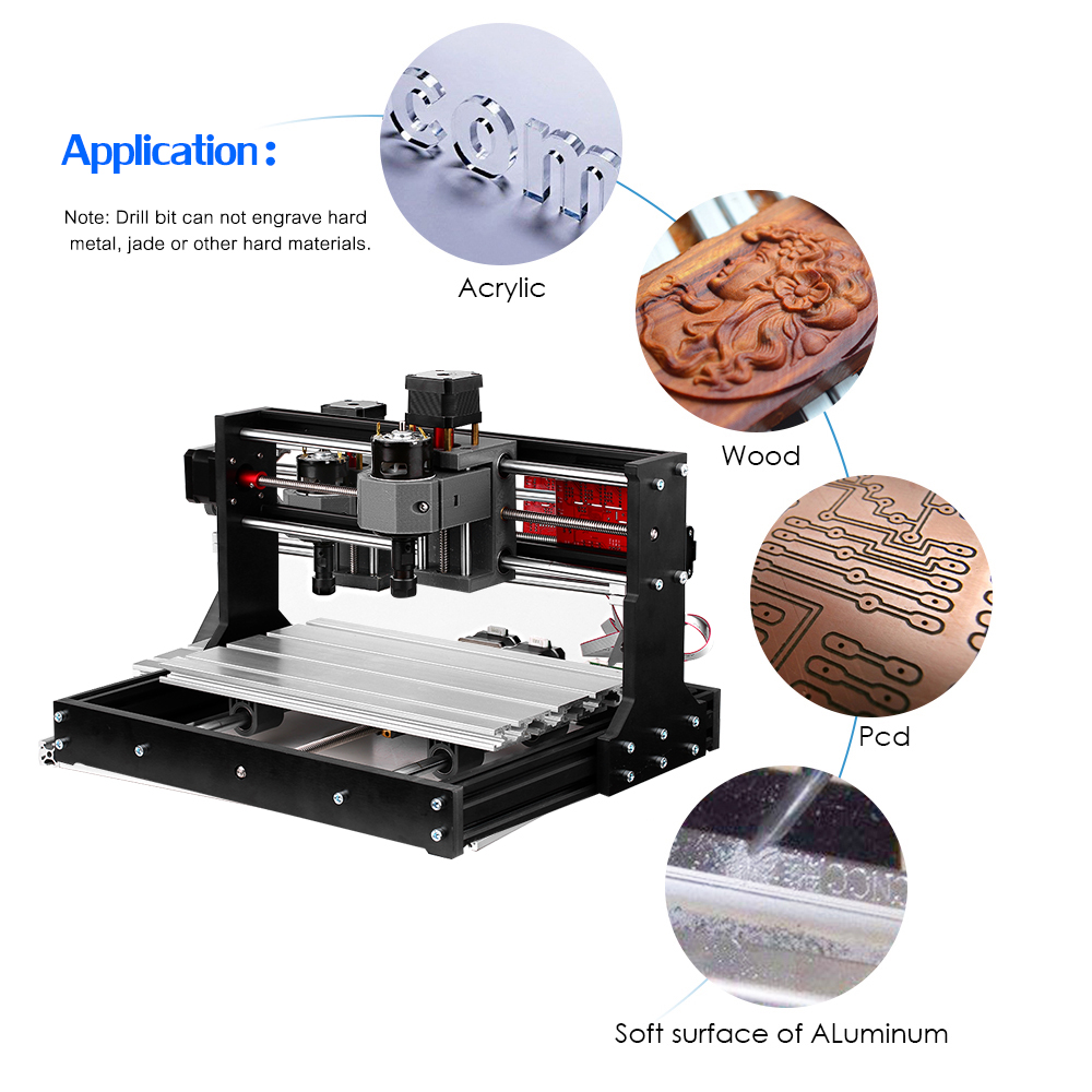 Upgrade CNC 3018 Pro GRBL Control DIY Mini CNC Machine 3 Axis Pcb Milling Machine Wood Router Engraver With Offline Controller