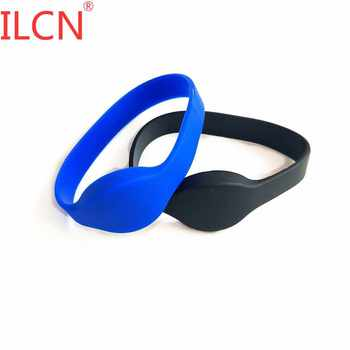 125KHz ID RFID Only Read Waterproof Wristband Smart Tag Keyfob Proximity EM4100 Bracelet 65mm For Access Control Card 1pcs - discount item  10% OFF Access Control