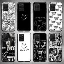 Larry Stylinson Tattoos One Direction Phone Case for Samsung S20 plus Ultra S6 S7 edge S8 S9 plus S10 5G lite 2020