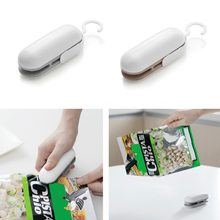 Mini Portable Food Sealer Machine Handheld Food Snacks Packaging Vacuum Plastic Bag Heat Sealing Machine Closing Capper(China)