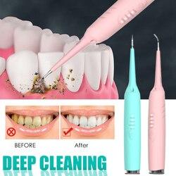 Electric Sonic Oral Irrigator Dental Scaler Tooth Calculus Tartar Remover Healthy Gums Dentist Waterproof Whiten Teeth Cleaner