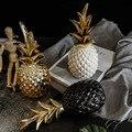 Скандинавский светильник, роскошный керамический ананас, золотой, креативный, для дома, для гостиной, для крыльца, модель комнаты, мягкое ук...