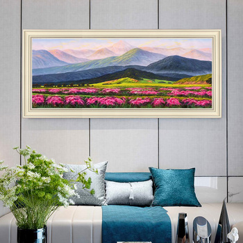 Hand-painted Oil Painting Decorative Painting Modern European Landscape Paintings Of American Companies To Do large-size Horizon