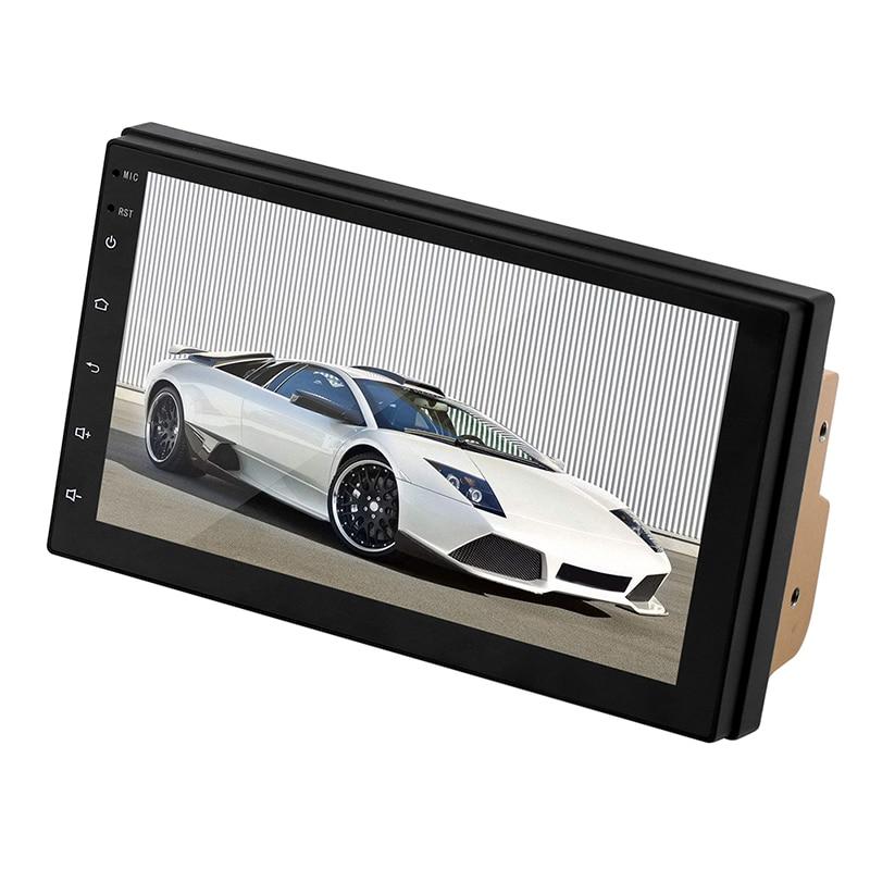 Pour Android 8.1 lecteur radio de voiture écran LCD 1024*600 HD remplacement accessoire Navigation métal + ABS