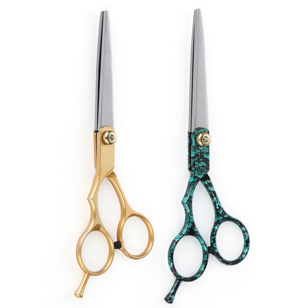6 Inch Hot Sale Salon Hair Cutting Tools Professional Barber Hair Cutting Thinning Scissors Shears Hairdressing Styling Tools