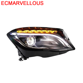 Drl Lamp Styling Assessoires Daytime Running Led Accessory Headlights Car Lights Assembly 17 18 FOR Mercedes Benz GLA Class