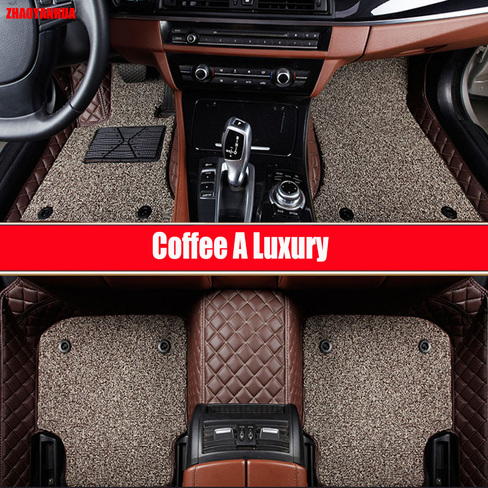 Custom make car floor mats for <font><b>Mercedes</b></font> Benz X156 <font><b>GLA</b></font> class <font><b>45</b></font> <font><b>AMG</b></font> 180 200 220 250 heavy duty rugs carpet car-styling foot case image