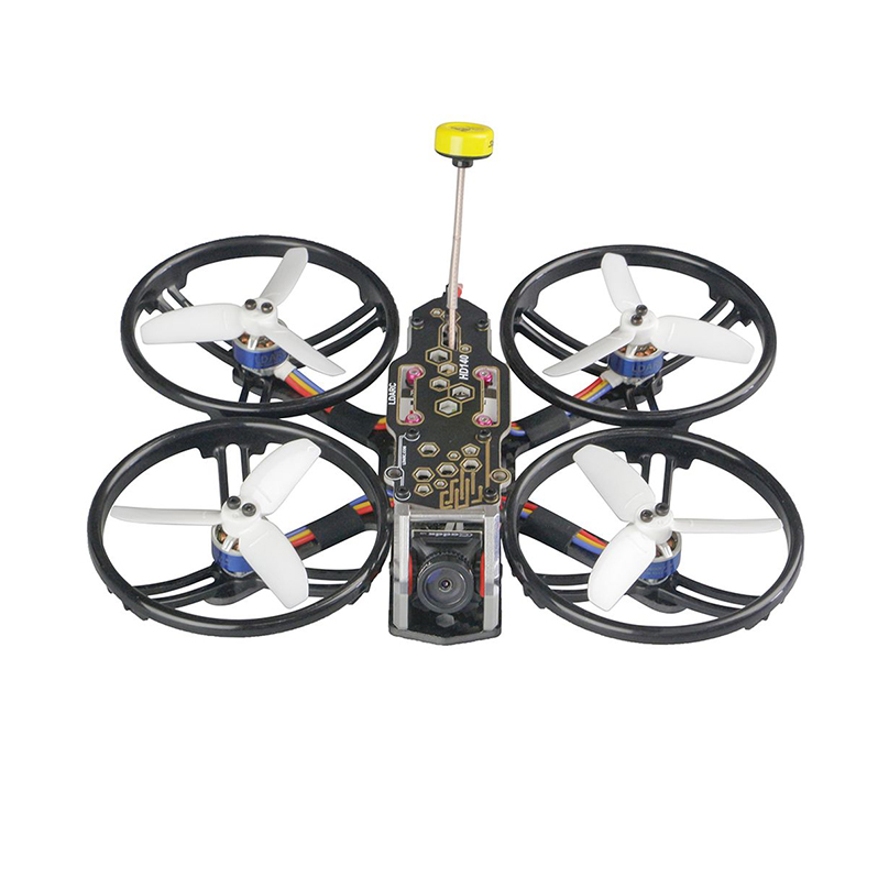 LDARC HD140 HD140-FPV 4S wyścigi Drone F411 kontroler lotu OSD E20A V200m VTX Nano2 kamera bez podpór Veiw TPE tłumienie projekt
