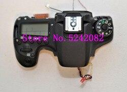 Oryginalny wyświetlacz LCD pokrywa górna/głowy Flash etui do aparatów Canon dla EOS 70D części naprawa aparatu cyfrowego w Części obiektywu od Elektronika użytkowa na