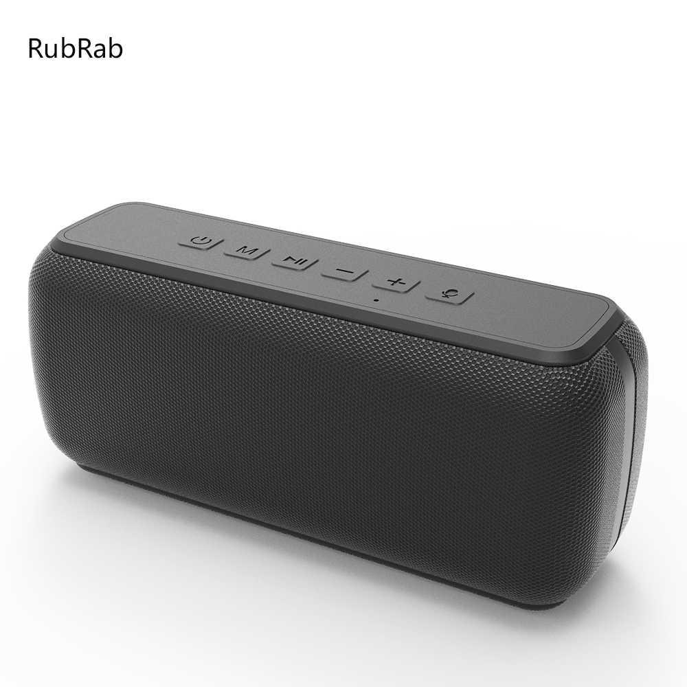 50W Bluetooth hoparlör BT5.0 taşınabilir hoparlör IPX5 su geçirmez 15H  oynatma ses yardımcısı tip c portu Subwoofer Taşınabilir Hoparlörler