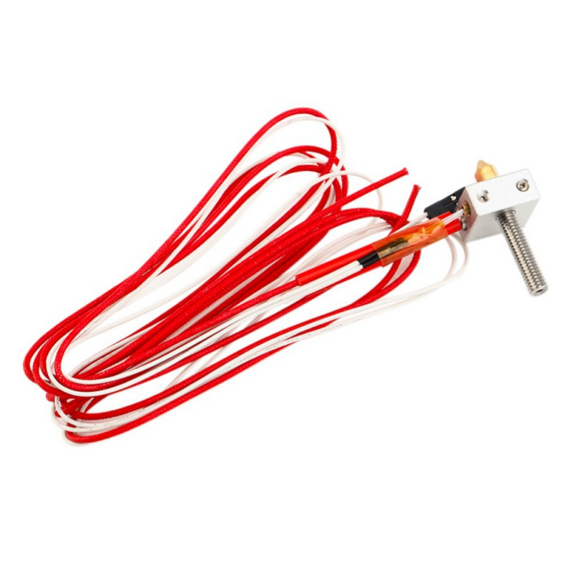 Hot MK8 Throat Extruder Heater For Anet A2 A8 3d Printer Parts Professional Universal DIY Hotend Nozzle Kit