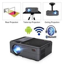 Caiwei C180 Smart Mini Projectorhd Mobile TV Android Piccolo Beamer Proiettore In Home Theater Proiettori Video outdoor Proiettori