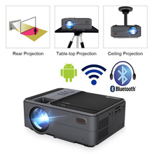 Caiwei C180 Smart Mini Projectorhd  Mobile TV Android Small Beamer Projector In Home Theater Projectors Video outdoor Projectors