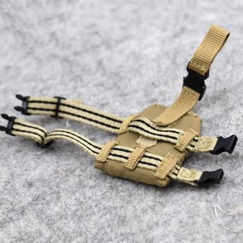 1/6 Scale Combat Bullet Bag Shotgun Belt Smoke Cartridge Bags 3 Styles Model for 12 4