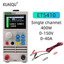 ET5410-probador de carga eléctrica profesional, carga eléctrica CC programable, Control Digital, carga electrónica, 150V, 40A, 400W