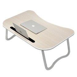Łóżko mały komputer biurkowy sprawia  że biurko  biurko  notatnik składany leniwi studenci wielozadaniowy dormitorium biurko deska prosty dom Mini|Biurka na laptopy|Meble -