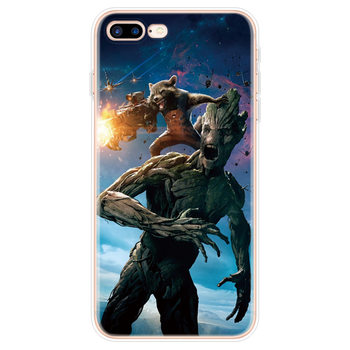 Marvel Avengers Heros Phone Case For iPhone X XR 11 Pro XS Max 7 8 6 6S Plus 5 5S SE  7Plus  3